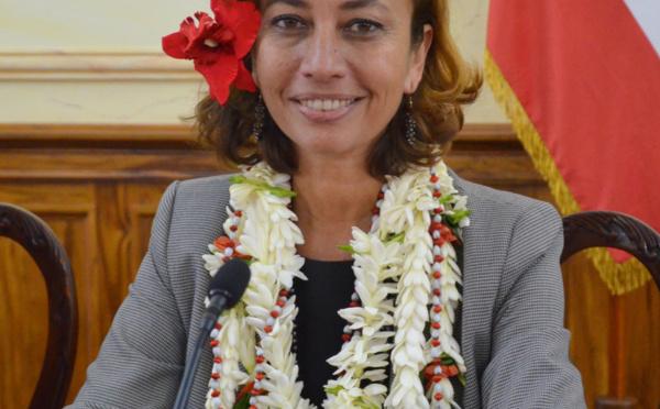 """Législative 2017 - Nicole Sanquer : """"nous siégerons dans la majorité présidentielle dans l'intérêt des Polynésiens"""""""