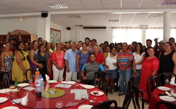 Bora Bora : les ambassadeurs de la POD à l'honneur