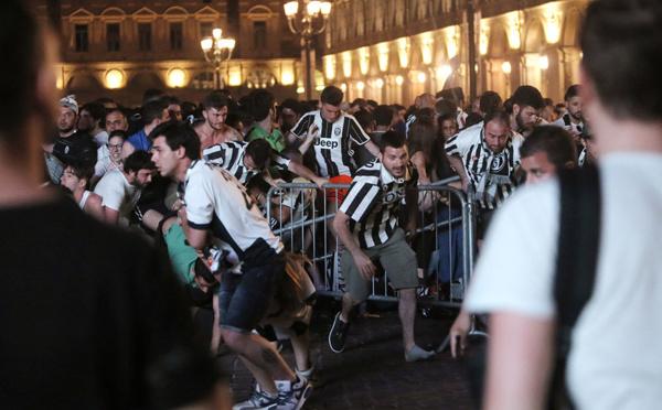 Plus de 1.500 blessés dans un mouvement de panique à Turin