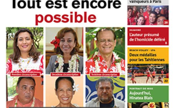 TAHITI INFOS N°924 du 6 juin 2017