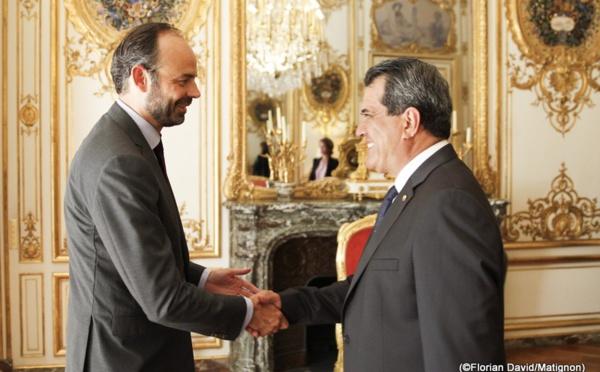 """Le Président Fritch """"plein d'espoir"""" à Matignon"""