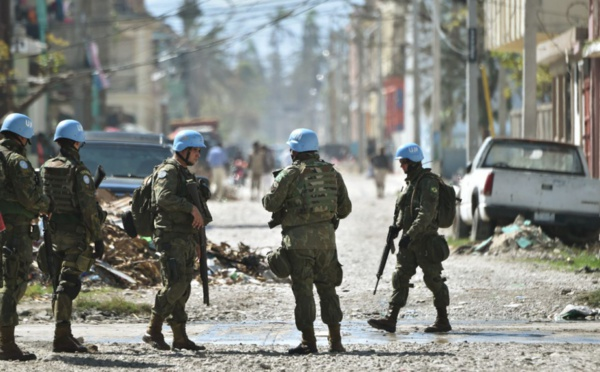 Le Conseil de sécurité à Haïti avant le départ des Casques bleus