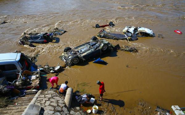 Inondations en Chine: 18 morts et 18 disparus