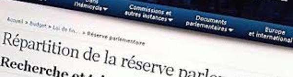 La réserve parlementaire, une pratique longtemps opaque, devenue transparente mais toujours contestée