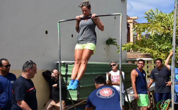 Recrutement à Arue : vingt candidats ont passé les épreuves sportives