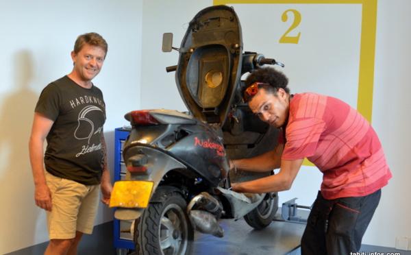 Ouverture d'un garage en libre-service pour deux-roues