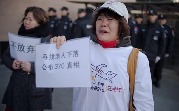 """Crash du MH370: une énigme """"presque inconcevable"""""""