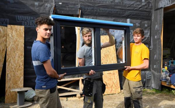Déçus par l'offre locative, des étudiants rennais construisent leurs propres logements