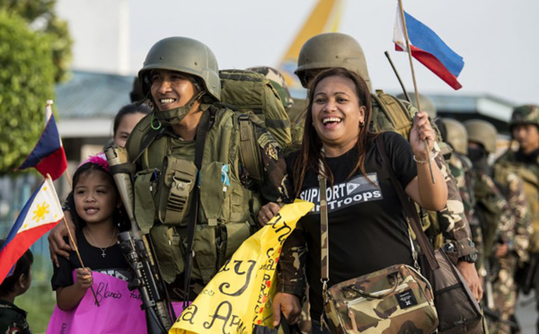 Manille annonce la fin de la bataille contre les jihadistes de Marawi