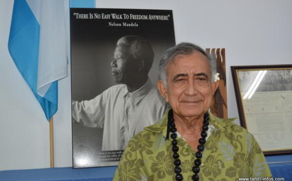 Oscar Temaru demande l'aéroport de Tahiti-Faa'a à Emmanuel Macron