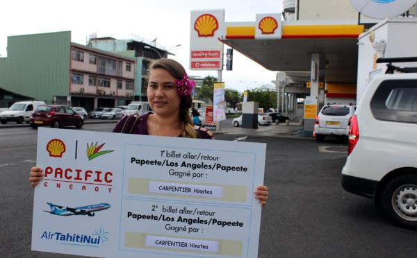 Jeu Shell Pacific : la chance sourit à Hinatea