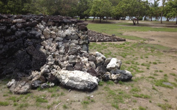 Classé à l'Unesco, le site de Taputapuātea tombe en ruine