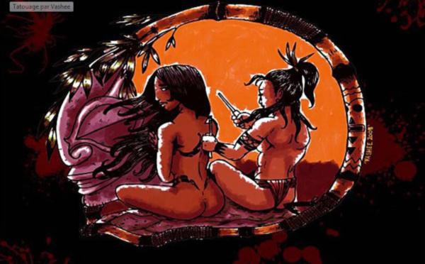 Légende de Mata Mata Arahu et Tu Ra'i Po, les dieux du tatouage polynésien
