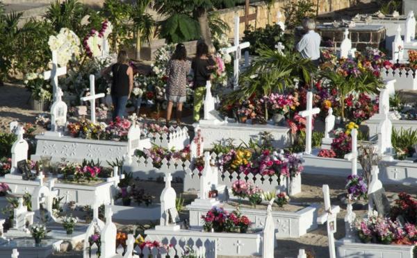 Johnny Hallyday repose à Saint-Barthélemy