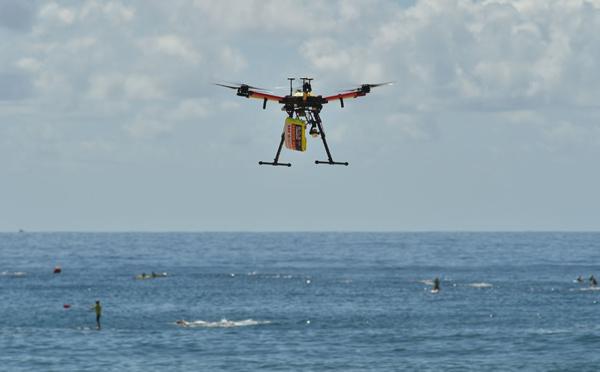 Australie: des drones surveillent les plages à la recherche de requins