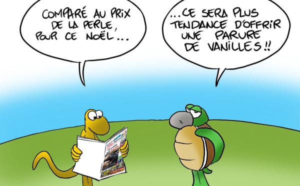 """ Prix de la Vanille "" vu par Munoz"