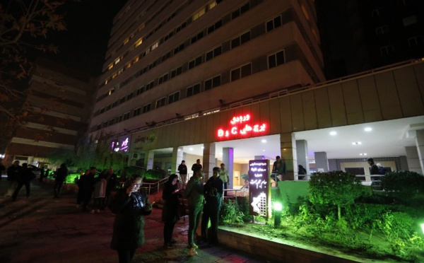 Cinq blessés dans une série de séismes en Iran