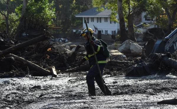 Les coulées de boue sèment mort et destruction en Californie