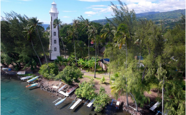 Phare de la Pointe Vénus, Teara o Tahiti