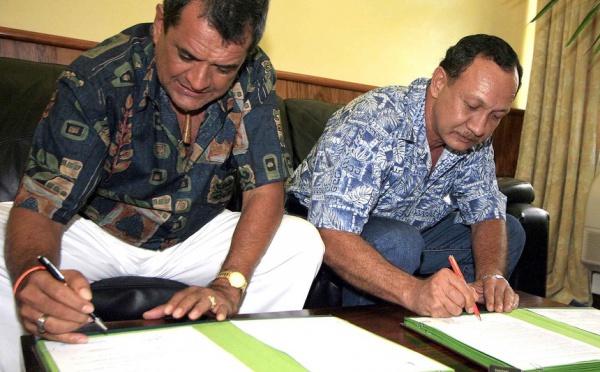 Deux conventions DDC signées pour Ua Huka