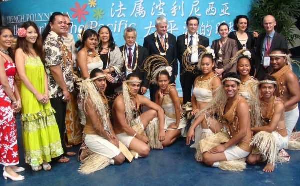 SHANGHAI : Gaston Tong Sang : visites et rencontres