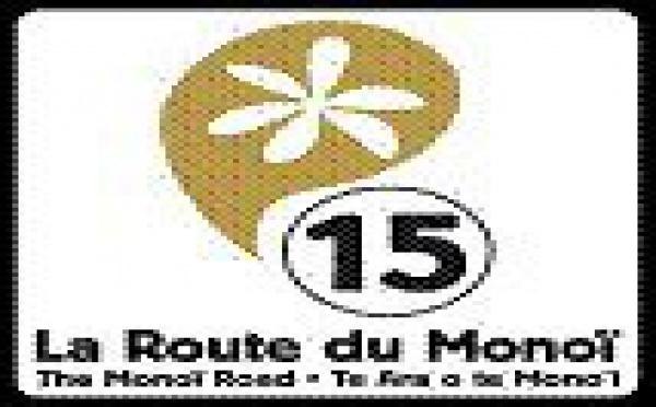La route du Monoï: les panneaux s'intallent sur le bord de nos routes