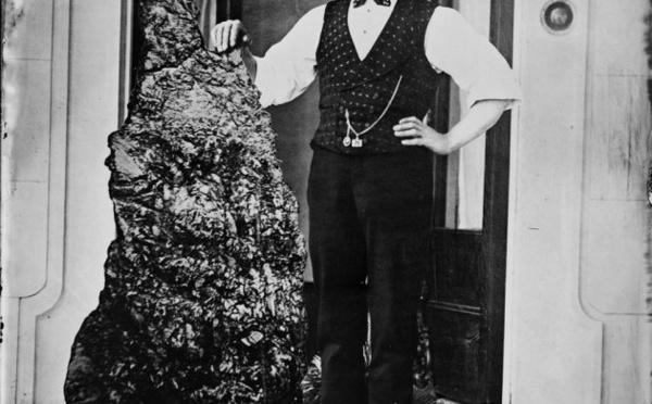 1872 : Bernhardt Holtermann,  le mineur à la pépite de 290 kg !