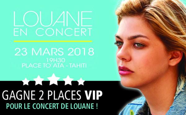 Gagne deux places VIP pour le concert de Louane ! Jeu du 20 au 22 mars