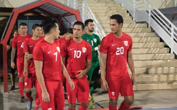 Football - Tahiti vs Calédonie : Un bon premier test-match, 0-0.