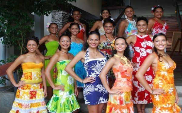 12 candidates pour Miss Tahiti 2010