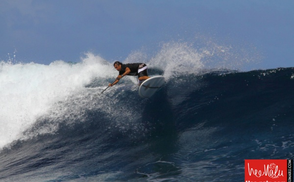 Hee Nalu Tntv Sapinus Pro présentée par Air Tahiti Nui L'Australien Dave Muir remporte la finale, le Tahitien Tama Audibert se place second