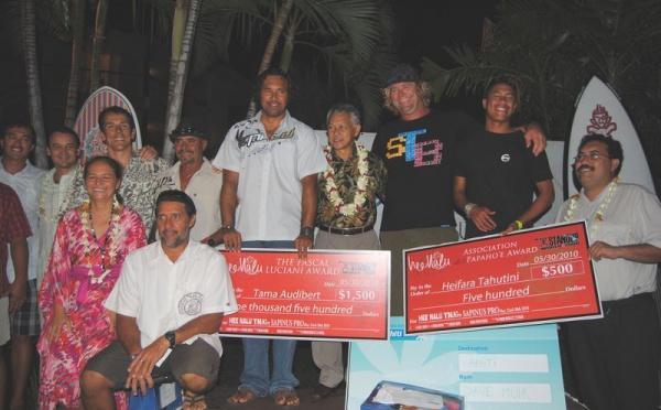 "Stand Up paddle: Remise des prix de la ""Hee nalu TNTV Sapinus Pro"""