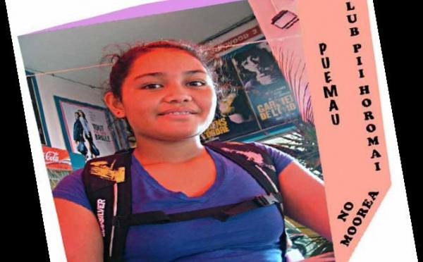 Puemau, 13 ans, membre du club canin de Moorea:Pii Horomai, no Moorea