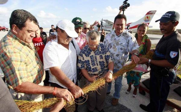 Tournée gouvernementale : le contraste entre Nukutavake et Reao