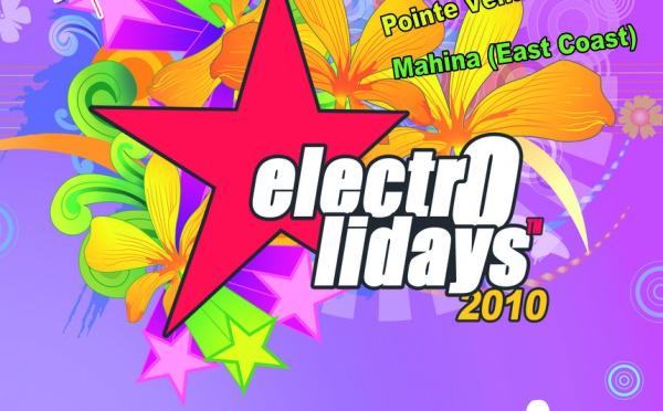 ELECTROLIDAYS 2010 à la pointe Venus: plus que deux jours pour en profiter!