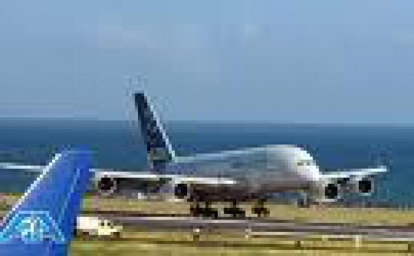 Un Airbus 380 se pose pour la première fois à Nouméa après avoir été dérouté