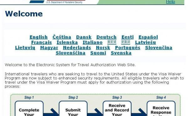 ESTA: du nouveau dans le dispositif de droit d'entrée (même transit) aux Etats-unis