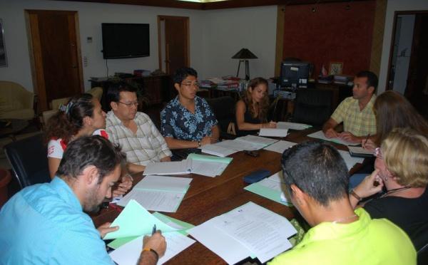 2011, l'Année de l'Outre-mer : Démarrage des travaux