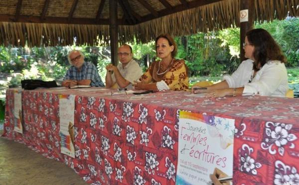 Journées femmes et écritures à l'assemblée les 14 et 15 septembre