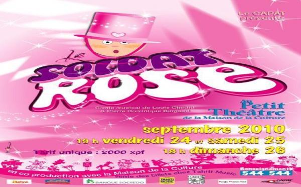 """Le Centre d'art polyphonique a Tahiti, (CAPAT) prépare le """"soldat rose"""""""