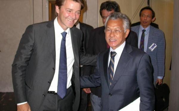 Gaston TONG SANG reçoit le soutien de François BAROIN