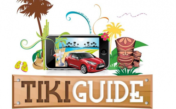 Le TIKIGUIDE, le guide GPS touristique de Tahiti et Moorea.