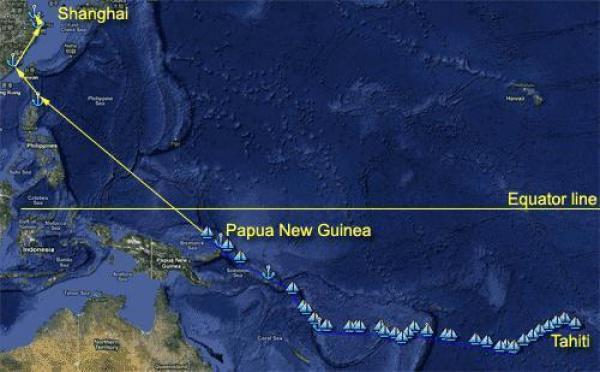 OTNF: dans 2 jours, l'équateur!