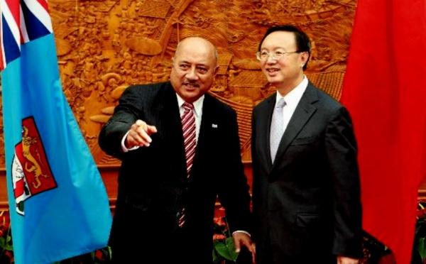 Pékin réitère sa volonté de rapprochement avec Fidji