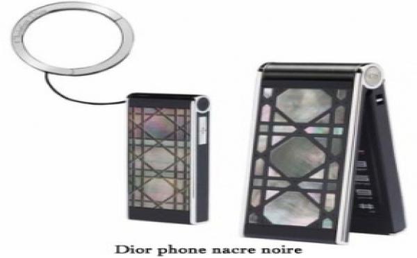 Dior phone lance des mobiles en nacre noire de Tahiti: luxe et technologie!