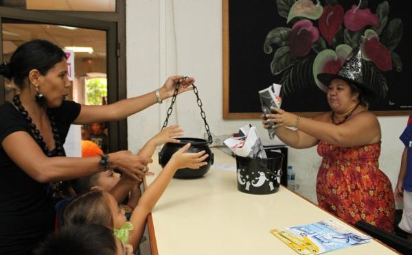 Halloween: Les grands de Heitama à la mairie de Papeete
