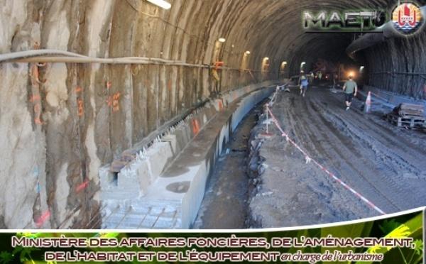Point sur l'avancée du tunnel du trou du souffleur de Tiarei (2-11-2010)