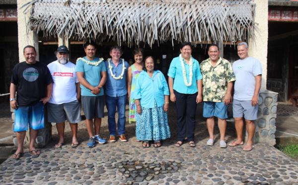 Adie : une nouvelle antenne à Nuku Hiva