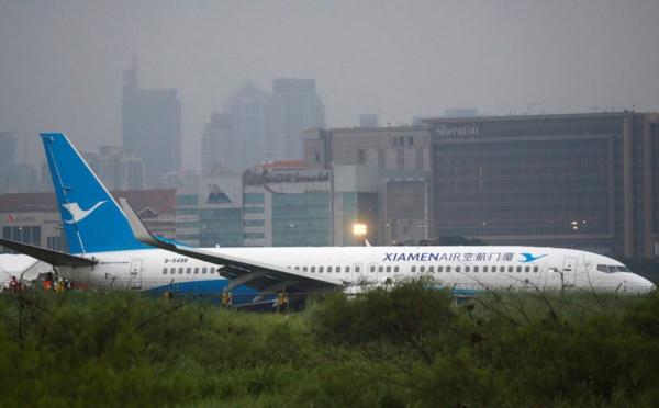 Sortie de piste d'un avion à Manille: au moins 67 vols annulés