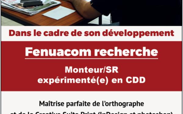 Offre d'emploi - Monteur SR expérimenté en CDD